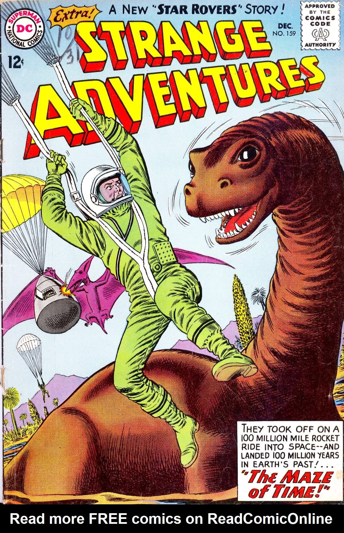 Strange Adventures (1950) issue 159 - Page 1