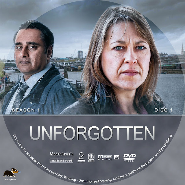 Unforgotten Season 1 Disc 1 DVD Label