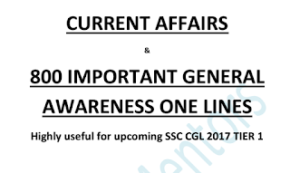 Important Current Affairs and General Awareness QA
