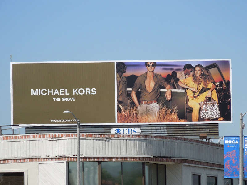 Michael Kors Spring 2012 billboard