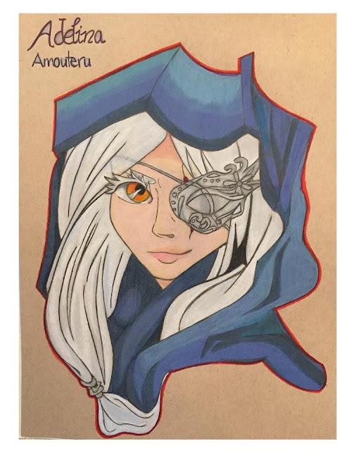 Adelina Amouteru, por marquiseing