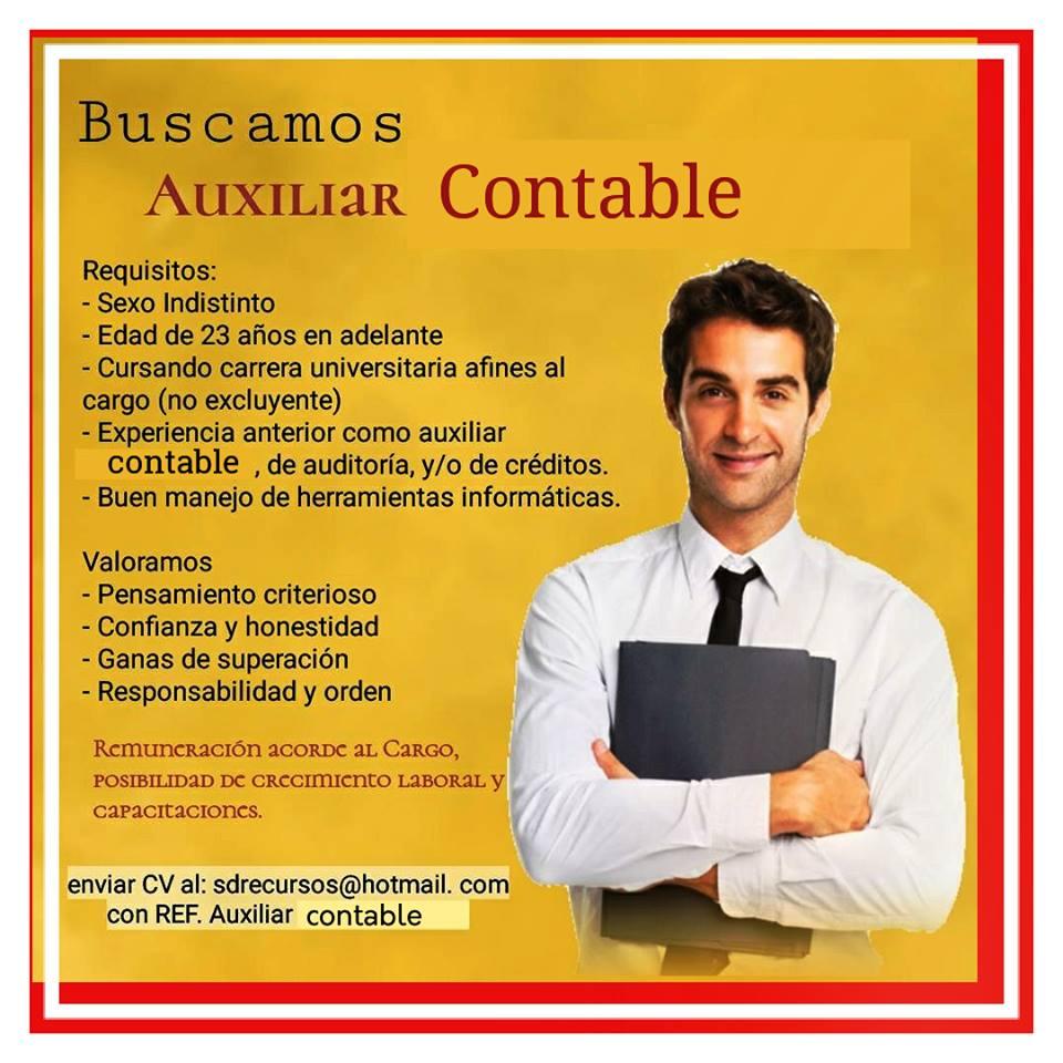 💼 BOLSA DE TRABAJO PARAGUAY EMPLEOS : auxiliar contable