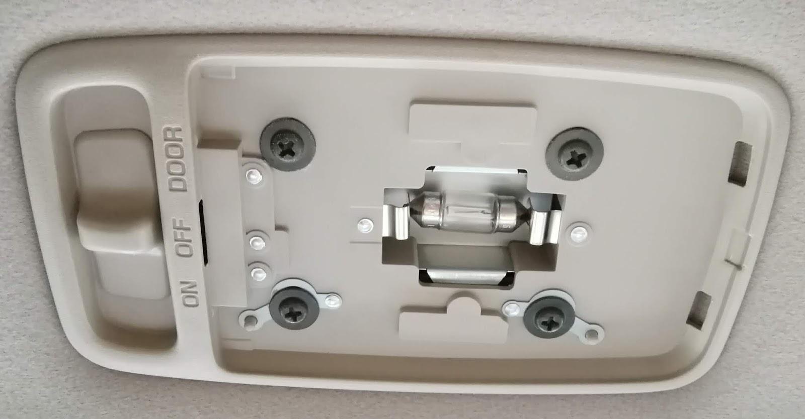Jzx110 ルームランプ Led電球に交換 Led電球にはプラスとマイナスかあった 疑問体験日記