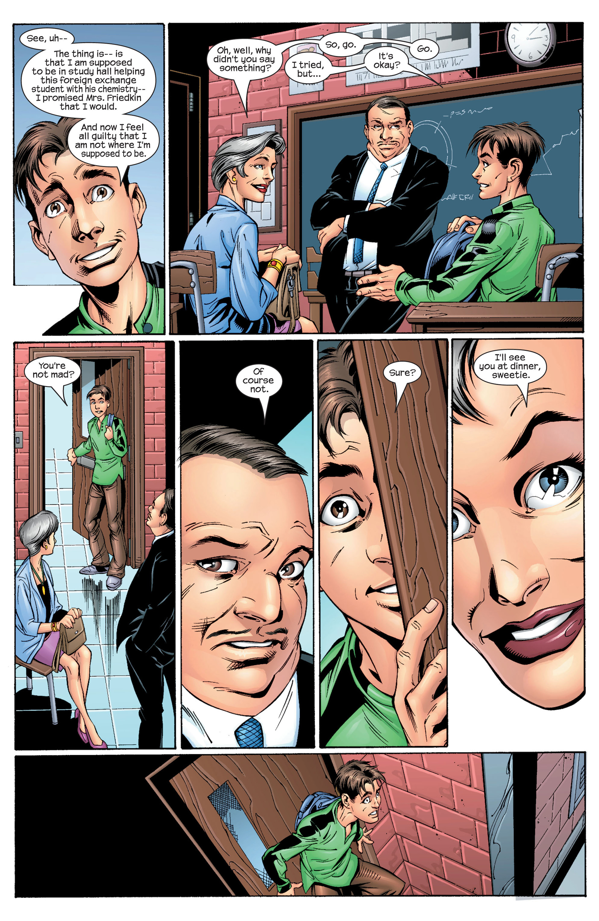 Read online Ultimate Spider-Man (2000) comic -  Issue #28 - 10