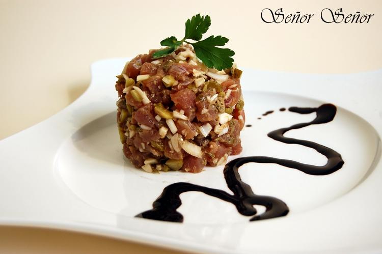 receta de tartar de atun rojo
