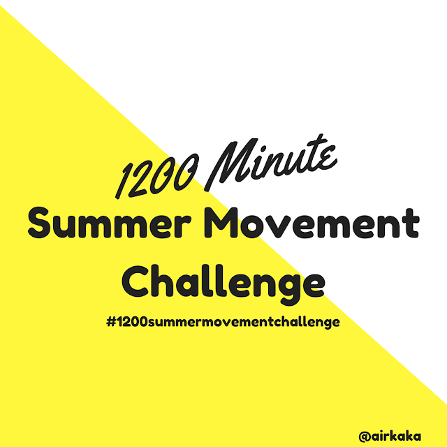 1200 Minute Summer Movement Challenge | Good Job Momma