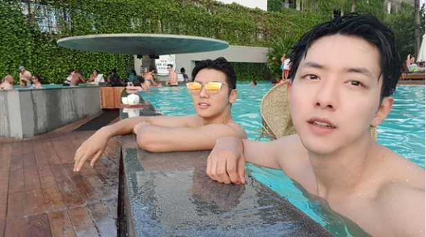 Min Hyuk dan Jung Shin CN Blue Liburan di Bali Sebelum Wamil