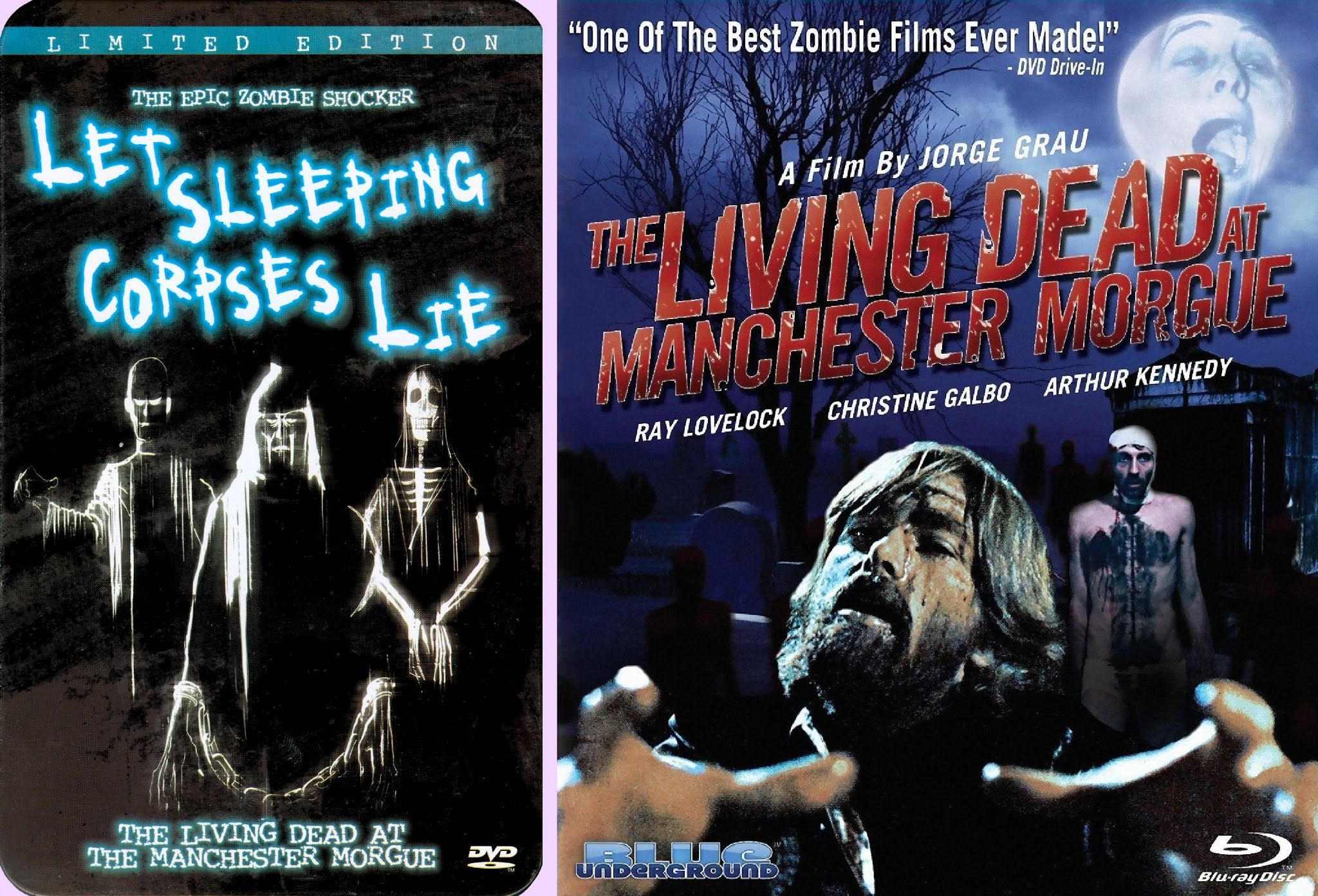DVD Exotica: A Pair of Blue Undergrounds #2: The Living Dead