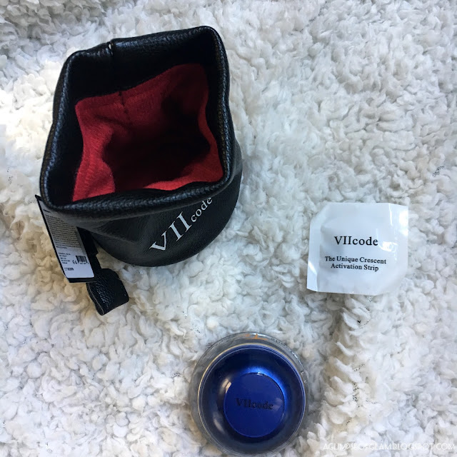 A Glimpse of Glam, VIICode Eye Cream, VIICode Oxygen Eye Cream, Review, Giveaway, Andrea Tiffany