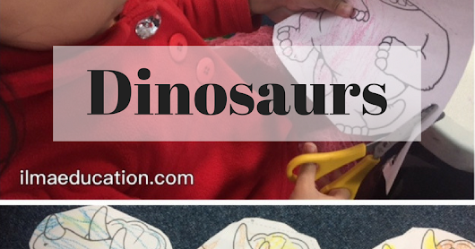 Letter of the Week: d for dinosau