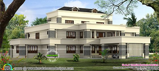 Arabic style 6 bedroom home architecture