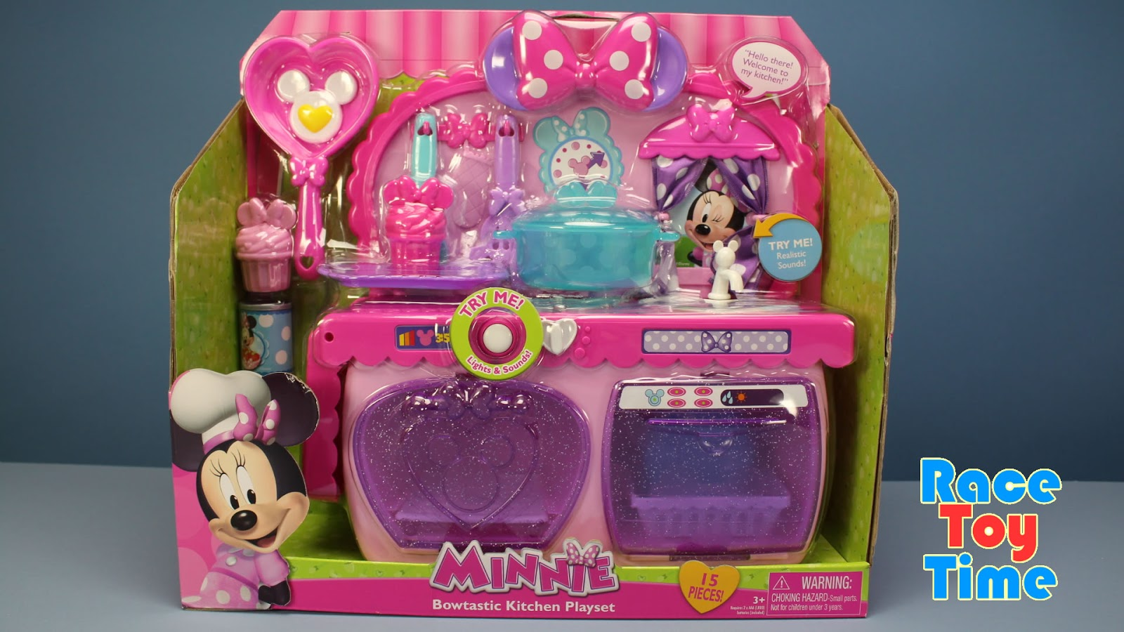 Race Toy Time Disney Minnie Mouse Bow Tique Bowtastic Toy