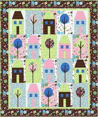 Quilt Inspiration: Free pattern day! House quilts : pdf quilt patterns free - Adamdwight.com