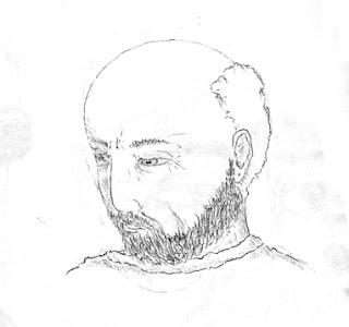 """Disegno di Carlo """"Charlie"""" Capotorto di Bergamo"""
