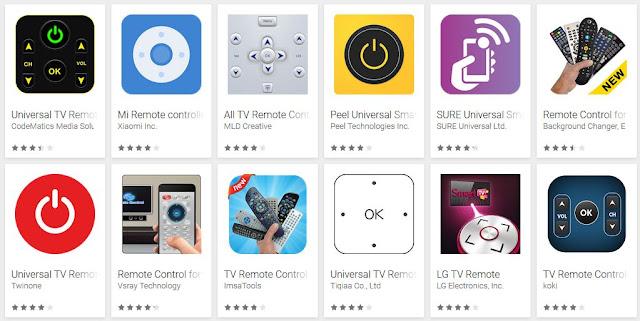Aplikasi Remove TV Android