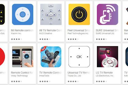 5 Aplikasi Remote TV Android