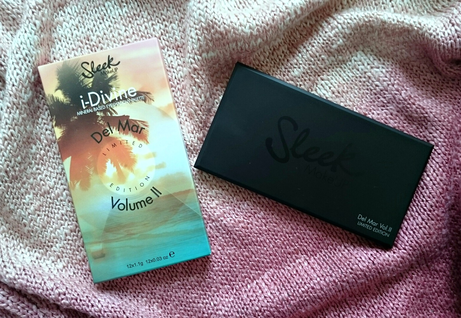 Sleek Del Mar vol.II palette