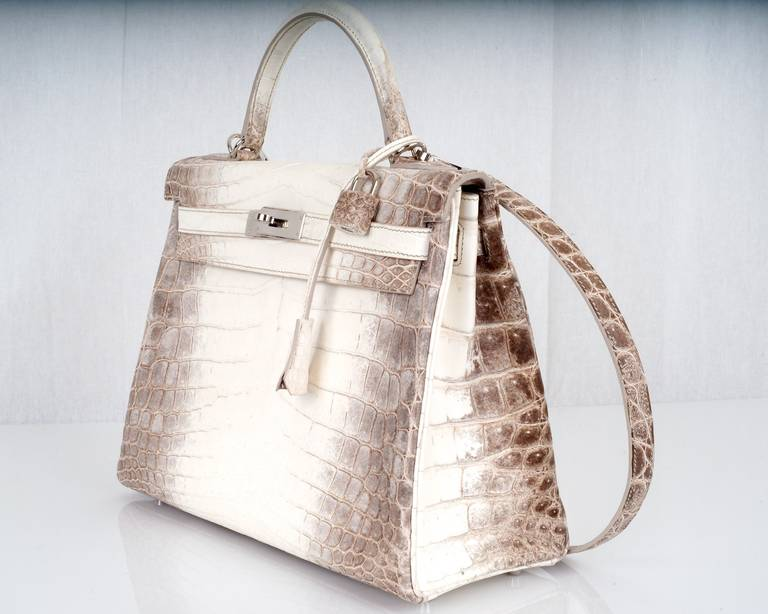 d2c30d20df3 ... buy hermes himalayan birkin with diamonds hermes birkin crocodile  himalayan white bags e52da b6aac