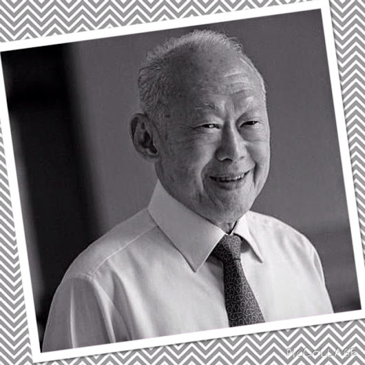 A Tribute to the Father of Singapore ~ Portraits of yesterday!!
