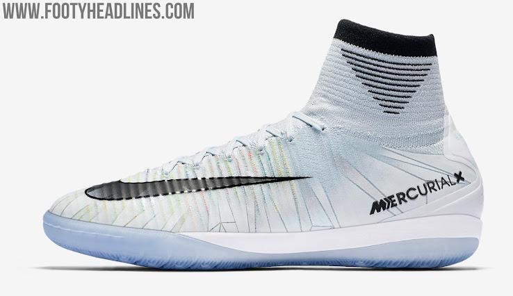 5df6810a2c4 Nike MercurialX Proximo II CR7  Cut to Brilliance  - Blue Tint   Black    White   Volt
