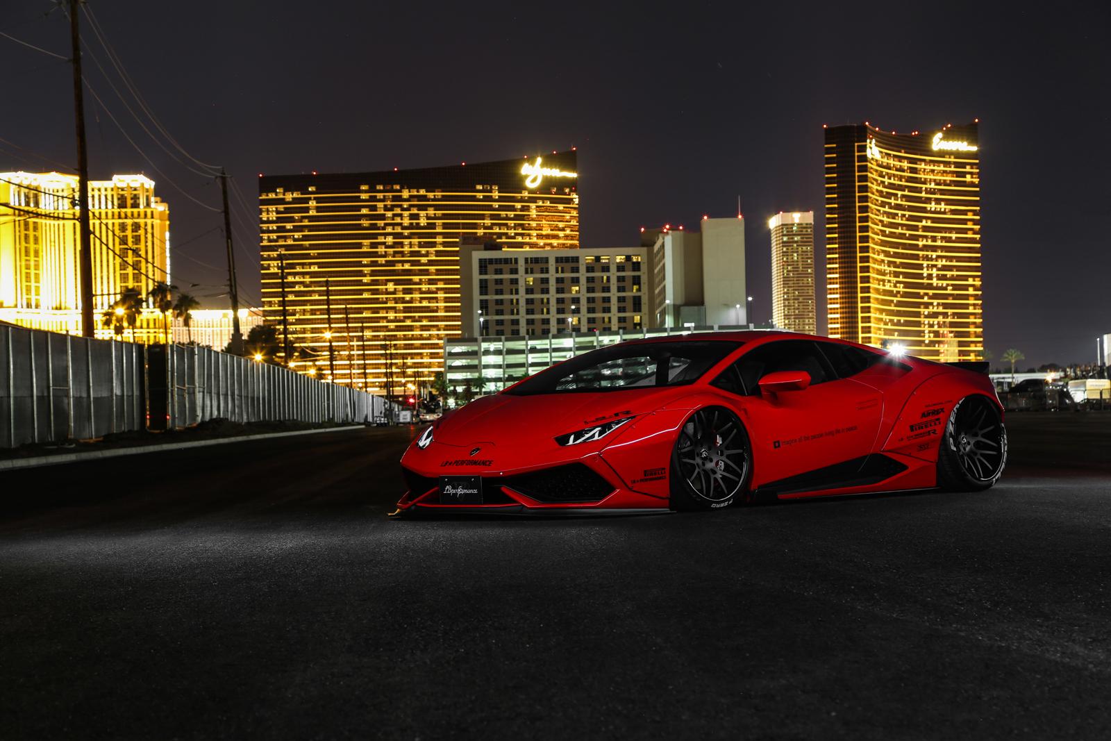 Liberty Walk Lends Lamborghini Huracan More Visual Drama Carscoops