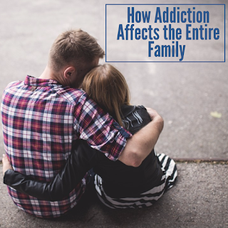 How addiction affects the family