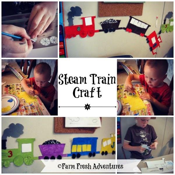 Steam Train Craft