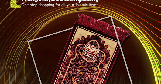 Mini Prayer Rugs for Kids (Travel Prayer Rugs) in Many colors - Muslim Clothing