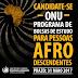 Programa de bolsas de estudo da ONU para afrodescendentes recebe inscrições até 31 de maio