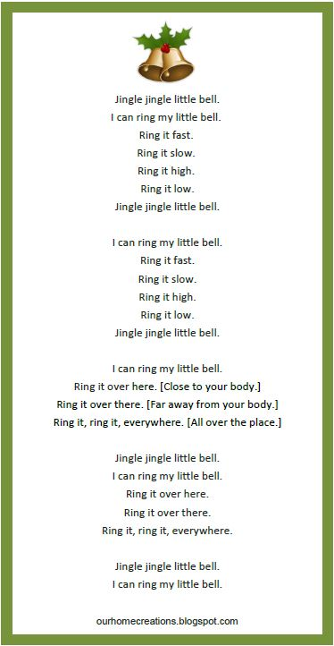 Smart image for jingle bells lyrics printable