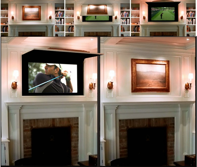 Hide My Tv With Art Or Mirror