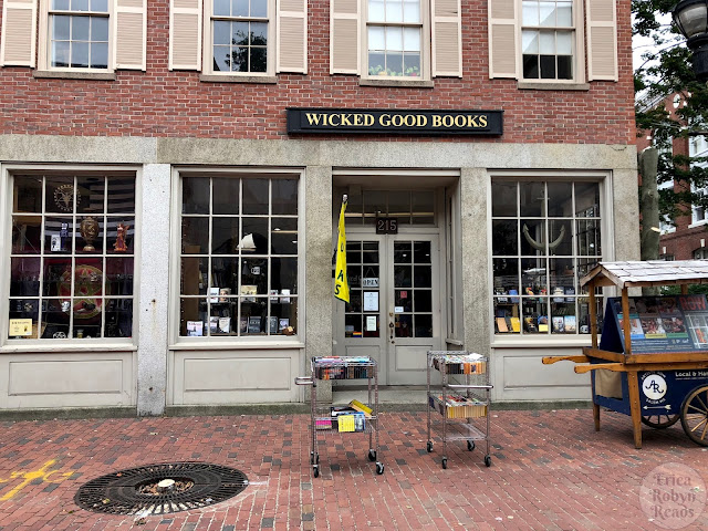 Visiting Wicked Good Books in Salem, MA