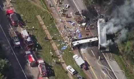 7 Passenger Suv >> I-40 Crash Causes Multiple Fatalities and Injuries (Video)