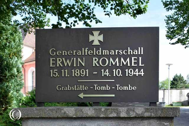Erwin Rommel gravesite Third Reich graves worldwartwo.filminspector.com