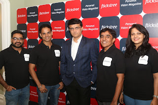 Sourav Ganguly opens his innings in the startup world, invests in entertainment company Flickstree