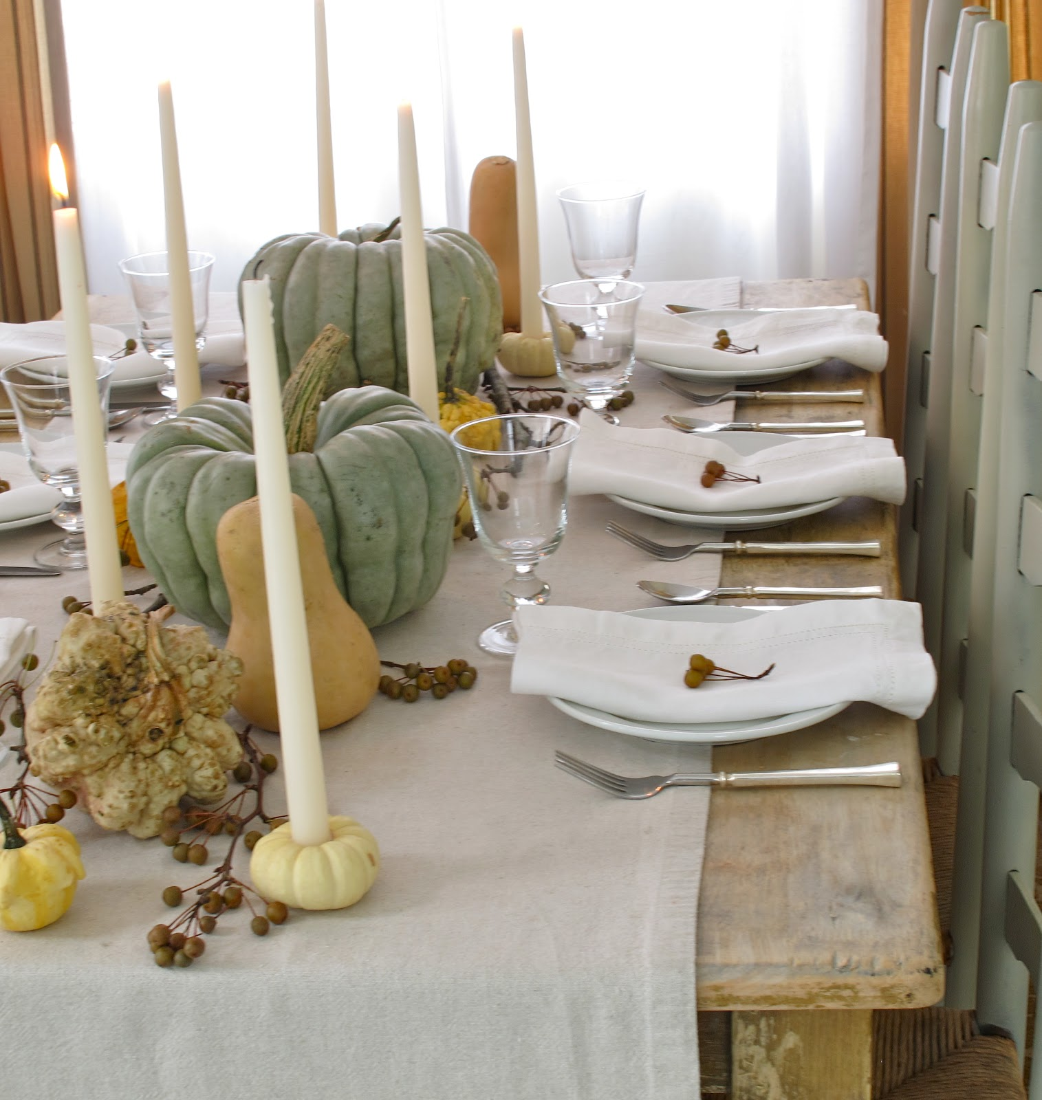 Mini Pumpkin Candle Holder Diy Fall Harvest Table Setting Jenny Steffens Hobick