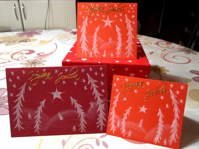 Handmade Christmas Cards Joulukortit