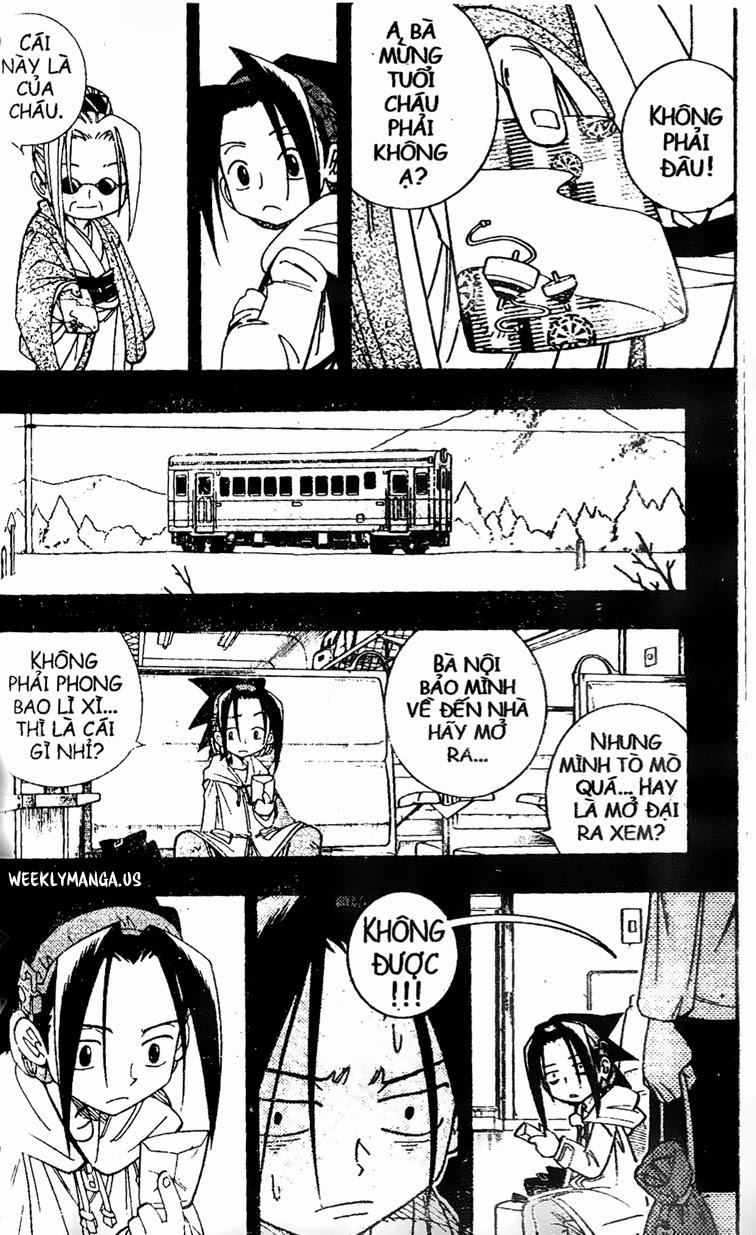 Shaman King [Vua pháp thuật] chap 177 trang 12