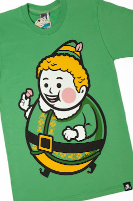 "Johnny Cupcakes x Elf ""Big Kid Buddy"" T-Shirt"