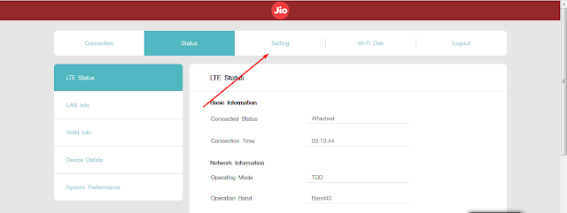 jio router port forwarding