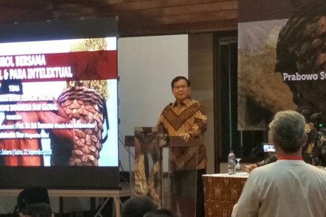 Prabowo: Untuk Apa Jalan Tol Bagus Kalau Mobil dan Truk Produk Asing