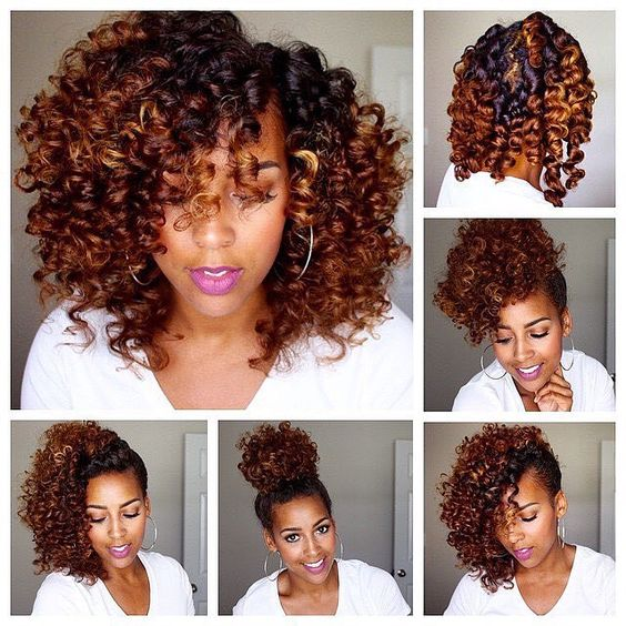 How To Do A Bantu Knot Out & A Flexi Rod Set