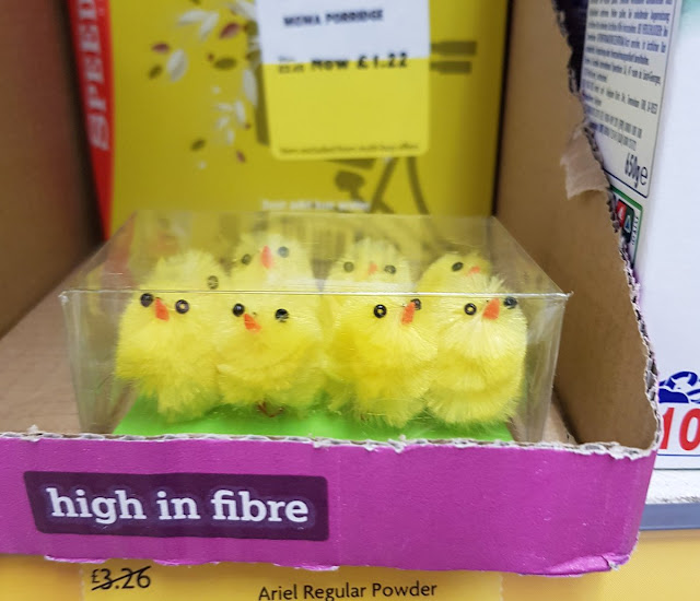Funny High In Fibre Easter Eggs Picture