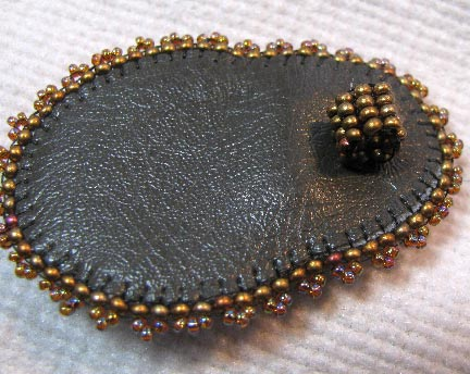 Beading Arts Jewel Bead Embroidery Pendants A Tutorial