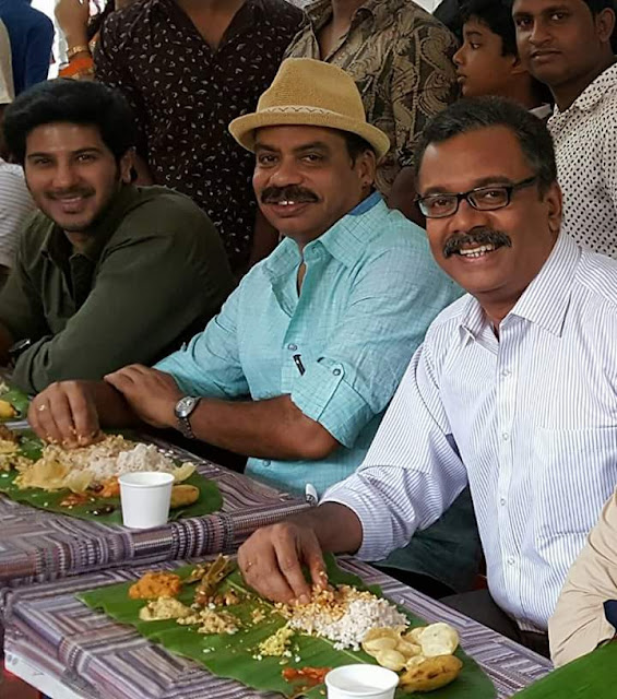Jomonte Suvisheshangal Malayalam Movie Working Stills