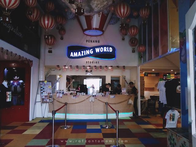 Pengembaraan 3D Di Penang Amazing World Studios, Pulau Pinang