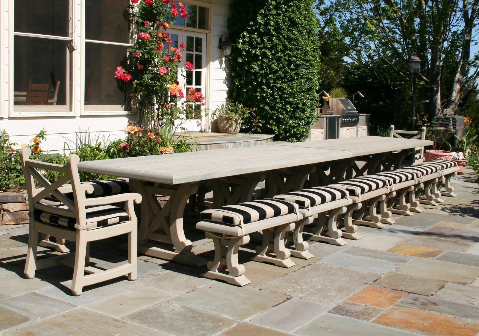 Walters NYC Blog: Reed Bros.: Big Otdoor Tables For Grand
