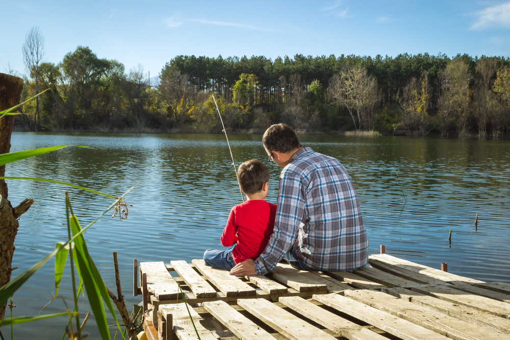 Fishing is big family fun at the lake of the ozarks for Fishing spots near me app