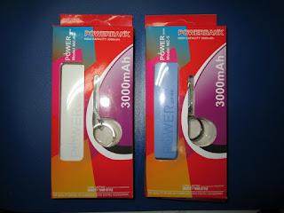 Powerbank MZ-5 Model Gantungan Kunci 3000mAh