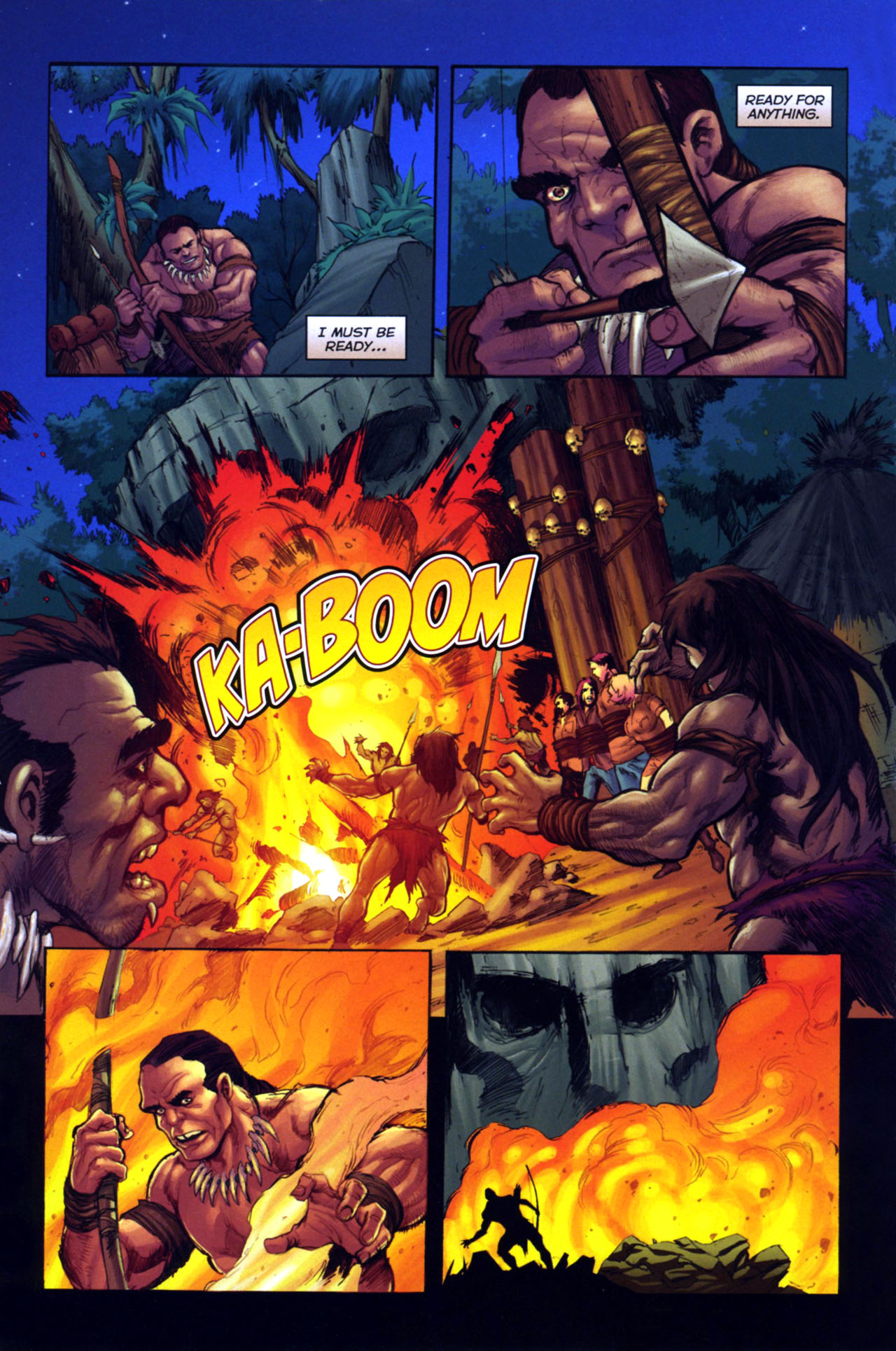 Read online Jungle Girl comic -  Issue #4 - 7